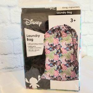 Disney Lilo & Stitch Pull String Close Laundry Bag